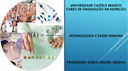 Epidemiologia & saúde - Universidade Castelo Branco