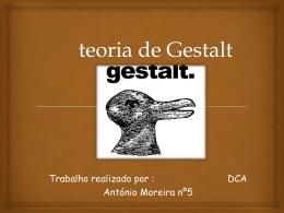 teoria de Gestalt