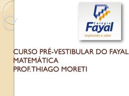 12 - Cursinho 2012 Matemática
