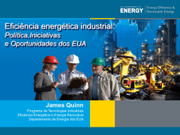 Slide 1 - US-Brazil Industrial Energy Efficiency Workshop
