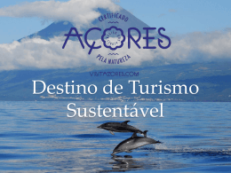 AÇORES Destino de Turismo Sustentável
