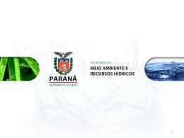 Apresentação SEMA Meio Ambiente e Recursos