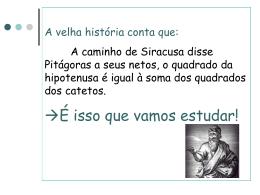 pitagoras! - WIKI João de Meira