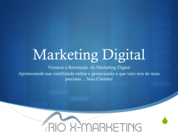 sobre a empresa. - Rio X Marketing