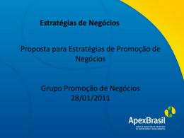 REUNIÃO STATUS DOS PES-promoção de negócios