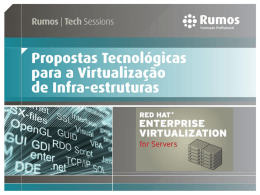 Red Hat Virtualization for Servers