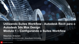 Configurando o Suites Workflow