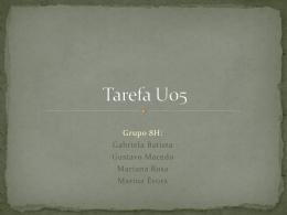 Tarefa U05