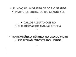 vidro.ppt - Campus Rio Grande