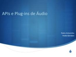 APIs e Plug-ins de Áudio