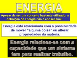 Energia mecânica - Colégio Santa Cruz