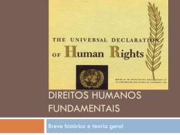 Direitos Humanos Fundamentais