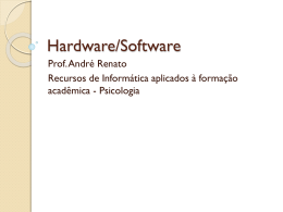 Hardware/Software - Professores da UFF