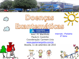 Doenças Exantemáticas - Paulo Roberto Margotto