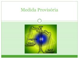 Medida Provisória - Direito 1305