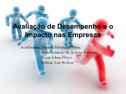 Avaliação de Desempenho e o Impacto nas Empresas