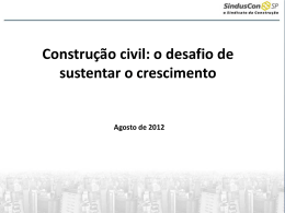 Slide 1 - Sinduscon-SP