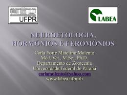 Neuroetologia - Etologia Zootecnia