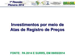 ATAS DE REGISTRO DE PREÇO - Documentos
