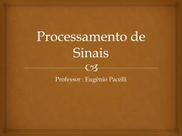 Processamento de Sinais