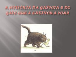 A História da Gaivota e do Gato que a ensinou a voar
