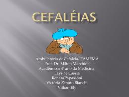 cEFALEIAS - Marchioli