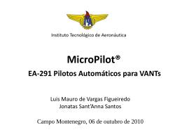 MicroPilot - PilotoAutomaticoVANT