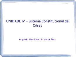 Slide 1 - AUGUSTO HORTA