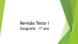 Revisão Teste I