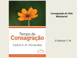 Consagração da Vida Ministerial