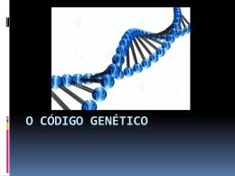 O código genético
