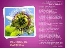 Flor de maracujá Fagundes Varela