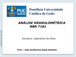 Lab - Granulometria