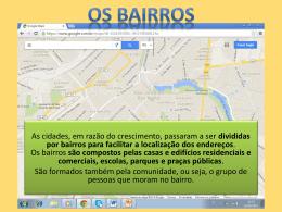 Bairro e Paisagem - Profa. Marcela Grabalos (public. 07/08)