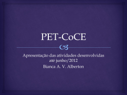 PET-CoCE - DAINF
