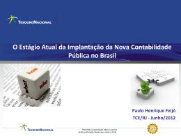 Dr. Paulo Henrique Feijo - ECG / TCE-RJ