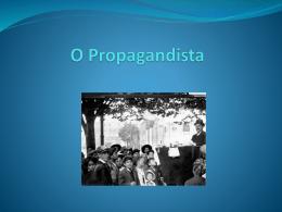 TIC - O propagandista.
