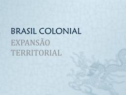 Expansão territorial.