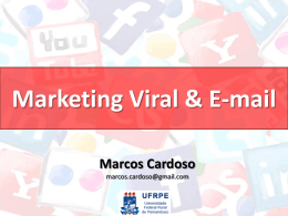 Marketing Viral & E-mail