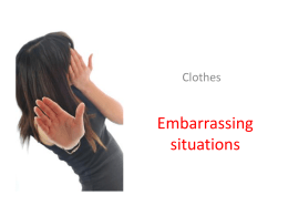 EmbarrassingSituations