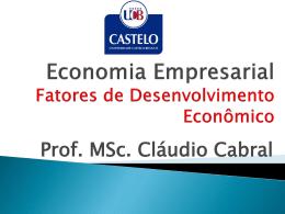 FLUXO DE CAIXA - Universidade Castelo Branco