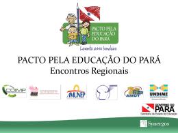 O que é o Pacto pela Educação do Pará?