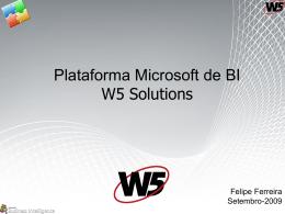 Plataforma BI Microsoft (Início projeto BI)