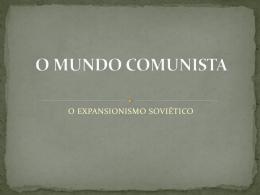 O MUNDO COMUNISTA