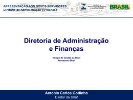 APRESENTAÇÃO DIRAF - ROGÉRIO FERNANDES