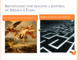 Dédalo e Ícaro - WordPress.com