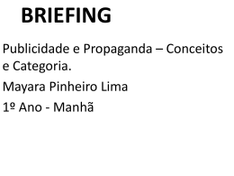 BRIEFING - Blogs Unasp