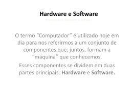 Hardware e Software Pronuncia