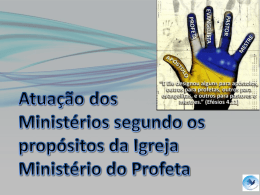 ministerio do profeta