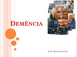 doença de Alzheimer - Professor Marlon